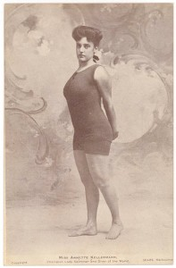 Annette Kellerman fashioning the Kellerman suit